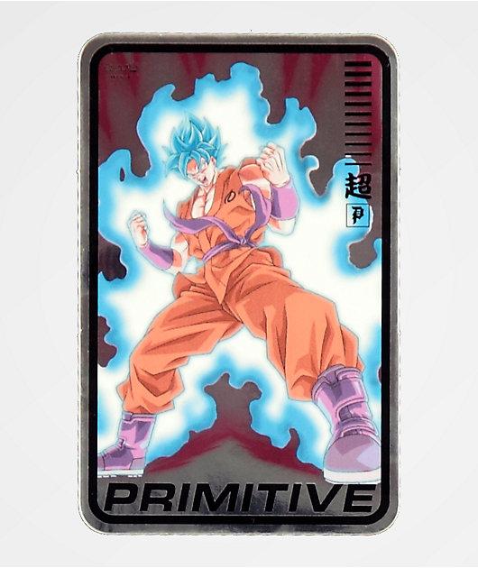 Primitive x Dragon Ball Super Champ Sticker