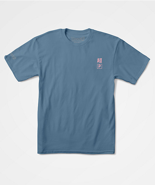 Primitive x Dragon Ball Super Fat Buu Slate Blue T-Shirt