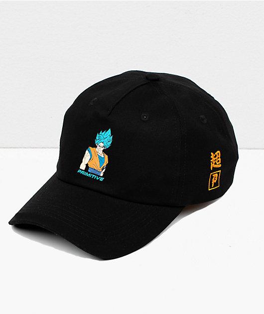 Primitive x Dragon Ball Super Goku Black Strapback Hat