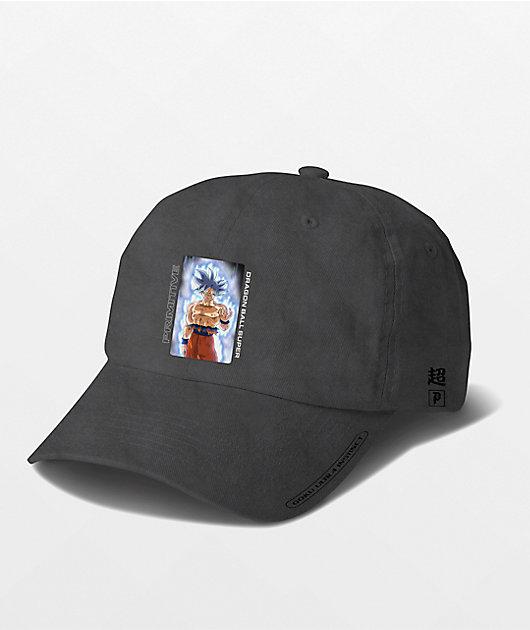 Primitive x Dragon Ball Super Goku Black Wash Dad Hat