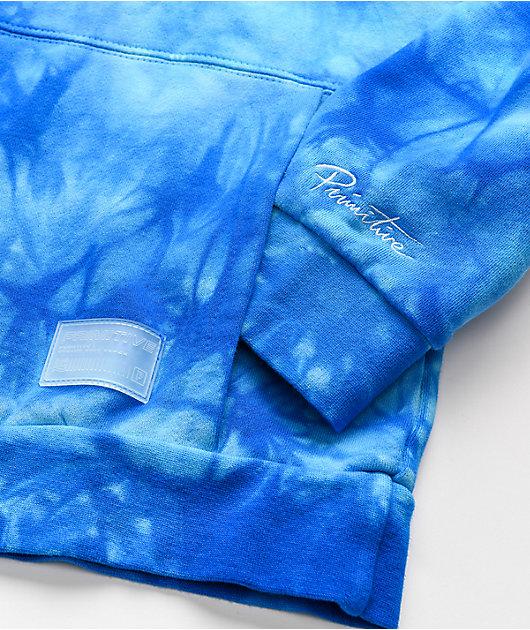 Primitive x Dragon Ball Super SSG Blue Wash Hoodie