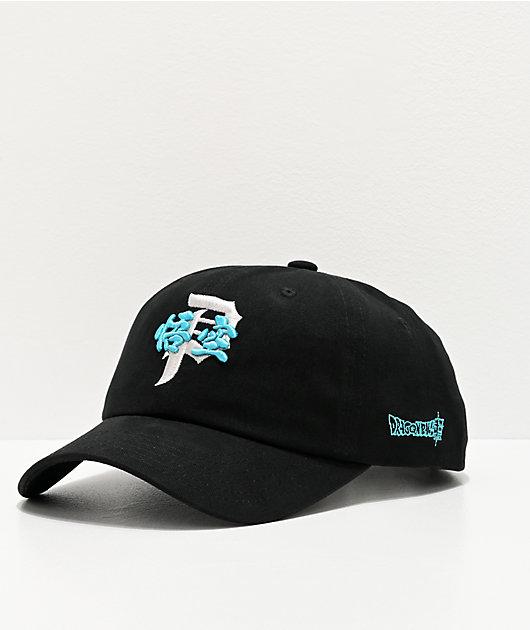 Primitive x Dragon Ball Super Tradition Black Strapback Hat