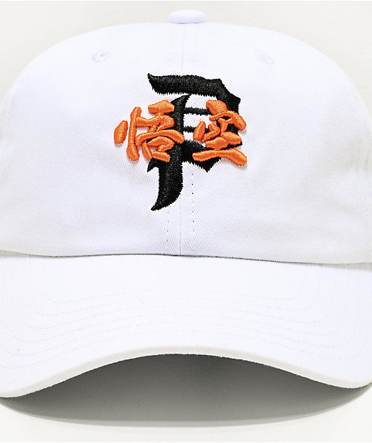 Primitive x Dragon Ball Super Tradition White Strapback Hat