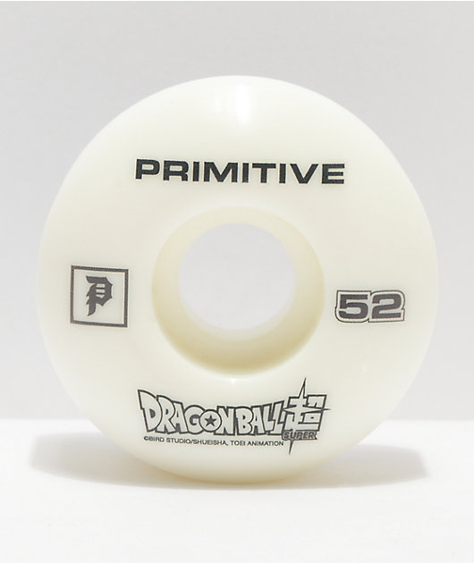 Primitive x Dragon Ball Super Ultra Instinct PRod 52mm 101a Skateboard Wheels