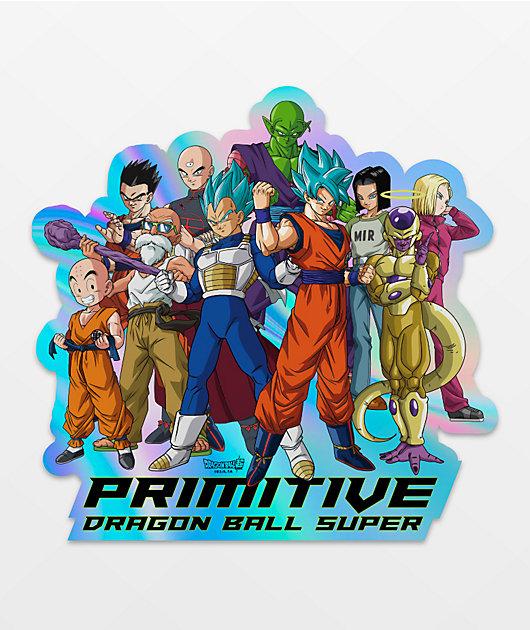 Primitive x Dragon Ball Super Universal Survival Sticker
