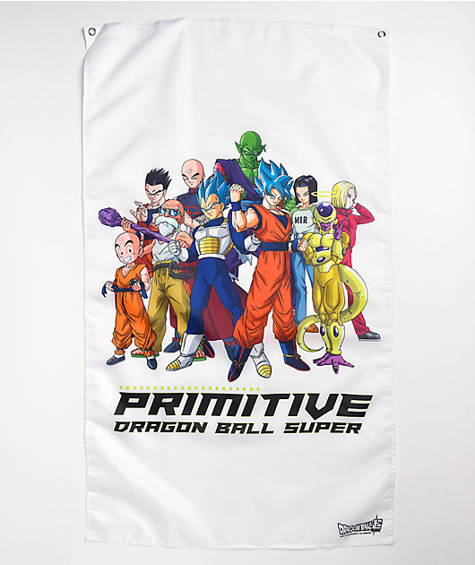 Primitive x Dragon Ball Super Universal Survival White Banner