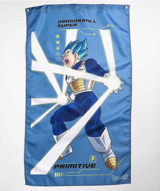 Primitive x Dragon Ball Super Vegeta Rage Slate Blue Banner