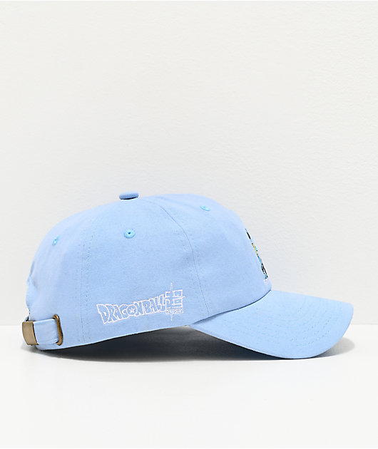 Primitive x Dragon Ball Super Whis Light Blue Strapback Hat