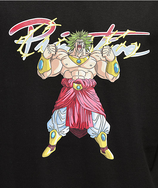 Primitive x Dragon Ball Z Broly Black T-Shirt