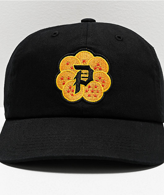 Primitive x Dragon Ball Z Dirty P Wish Black Strapback Hat