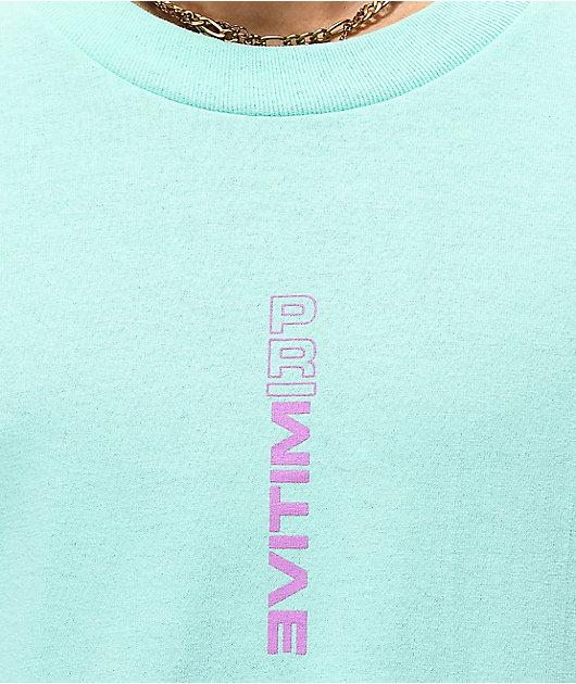 Primitive x Dragon Ball Z Freza Forms camiseta verde azulado