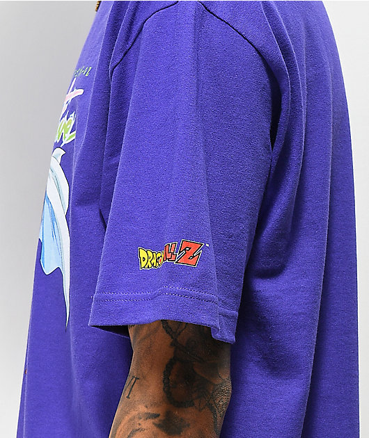 Primitive x Dragon Ball Z Nuevo Piccolo Purple T-Shirt