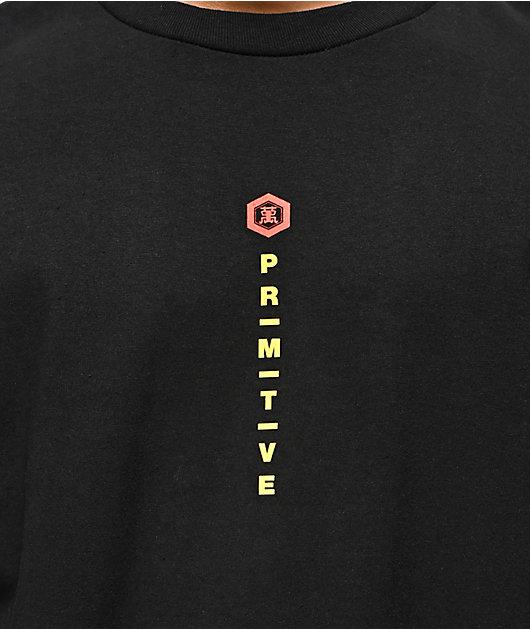 Primitive x Kikkoman Season Black Long Sleeve T-Shirt