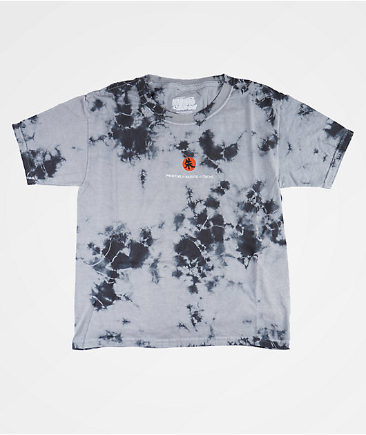 Primitive x Naruto Boys Crows Washed Grey T-Shirt