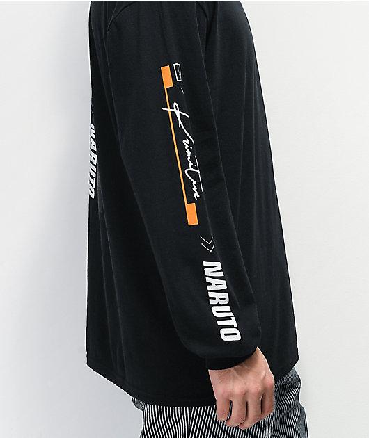 Primitive x Naruto Combat Black Long Sleeve T-Shirt