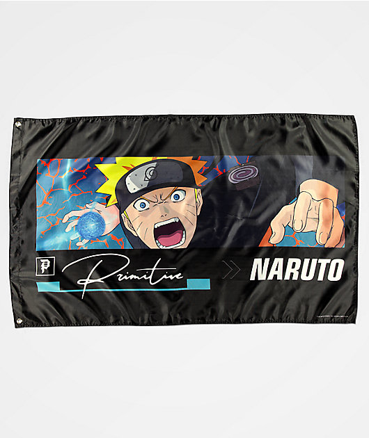 Primitive x Naruto Combat bandera negra