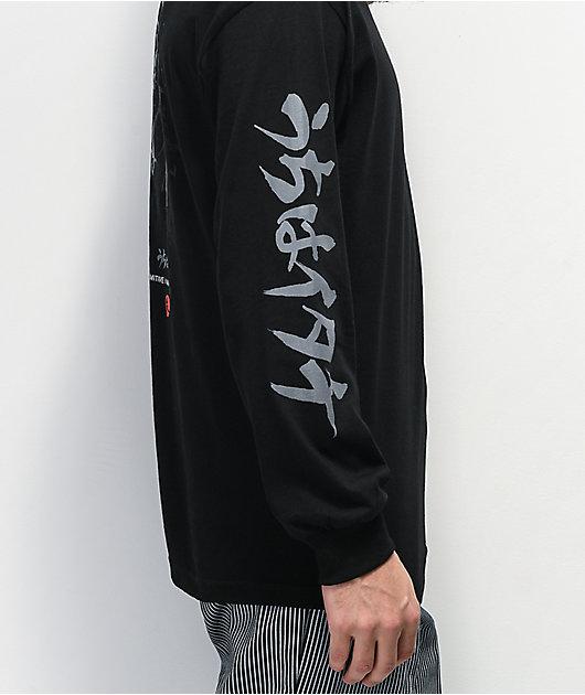 Primitive x Naruto Crows Black Long Sleeve T-Shirt