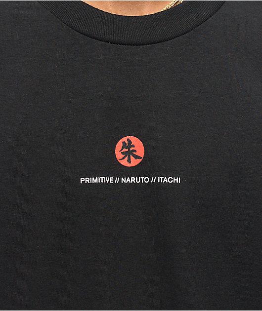 Primitive x Naruto Crows Black T-Shirt
