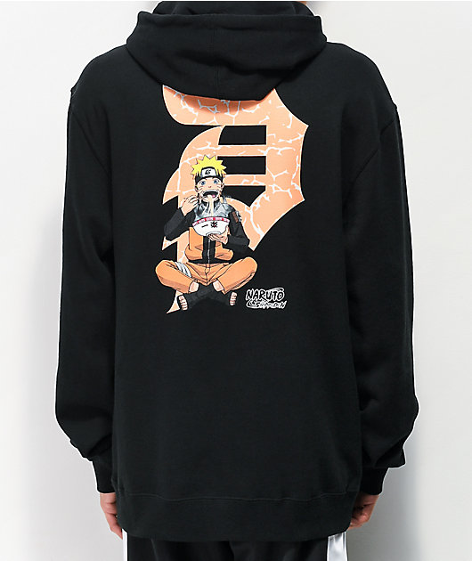 Primitive x Naruto Dirty P Ichiraku Black Hoodie