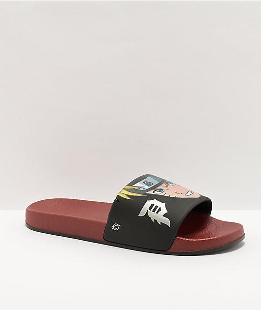 Primitive x Naruto Dirty P Slide Sandals