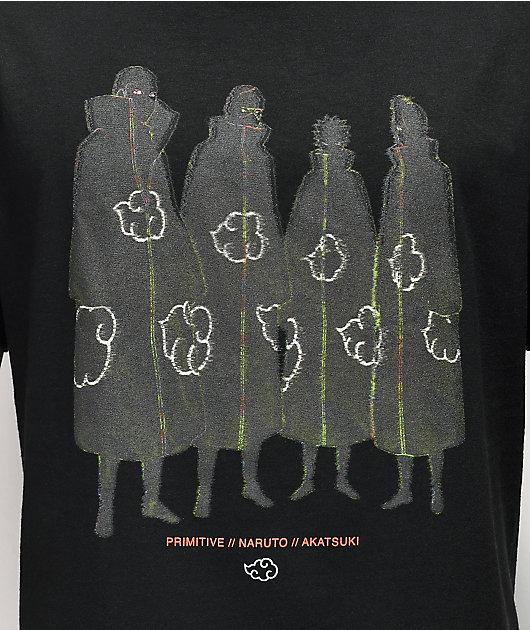 Primitive x Naruto Lantern Black T-Shirt