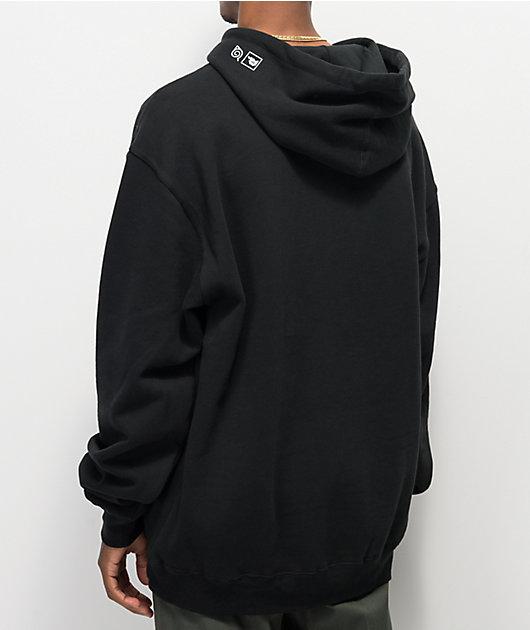 Primitive x Naruto Nuevo Black Hoodie