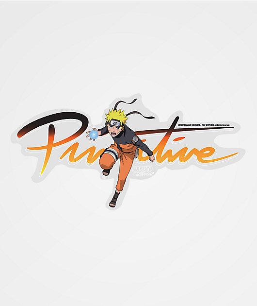 Primitive x Naruto Nuevo pegatina