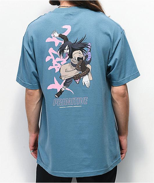 Primitive x Naruto Serpent Light Blue T-Shirt