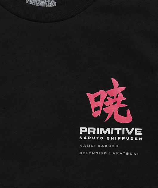 Primitive x Naruto Shippuden II Boy's Kakuzu Black T-Shirt