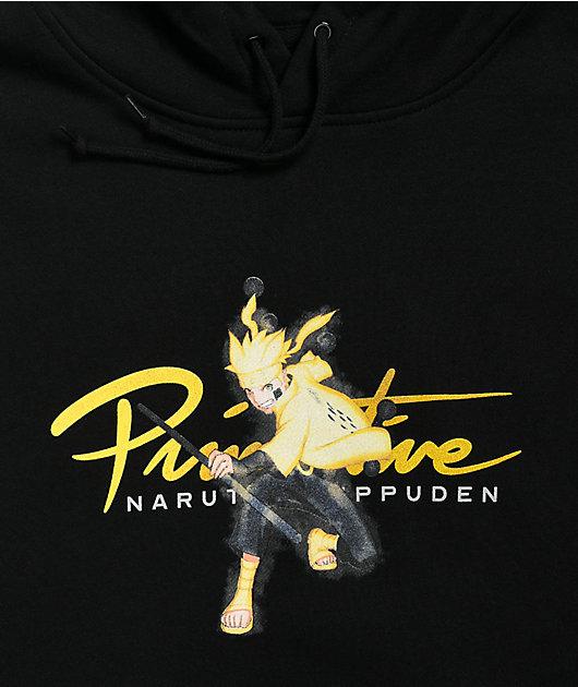 Primitive x Naruto Shippuden II Nuevo Kurama Black Hoodie