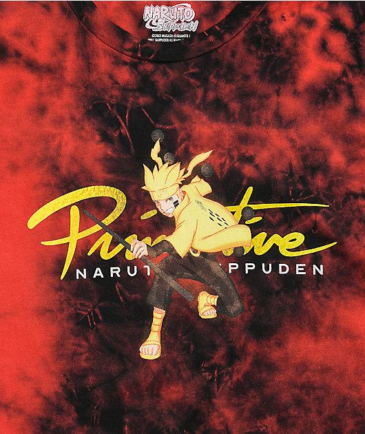 Primitive x Naruto Shippuden II Nuevo Kurama Washed T-Shirt