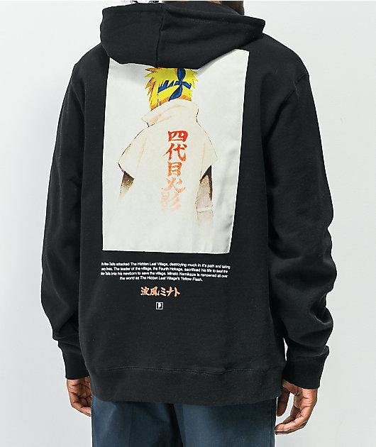Primitive x Naruto Shippuden Minato Black Hoodie