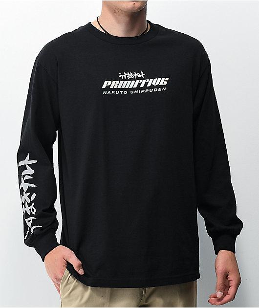 Primitive x Naruto Shippuden Six Paths Black Long Sleeve T-Shirt