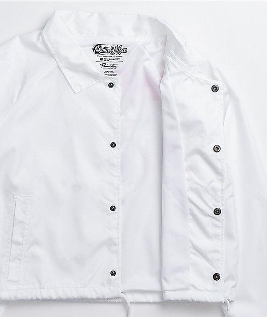 Primitive x Sailor Moon Serena White Crop Coaches Jacket