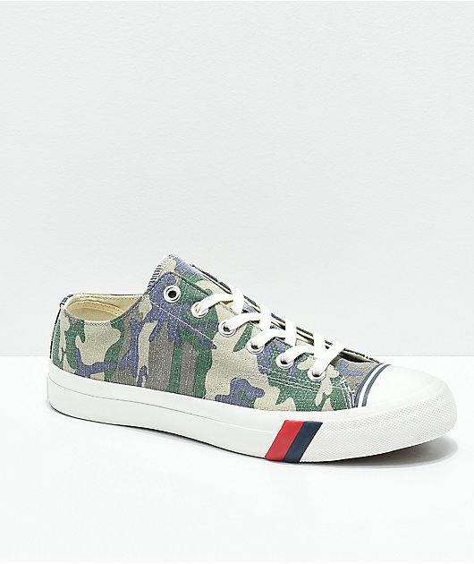 Pro-Keds Royal Lo Camo Shoes | Zumiez