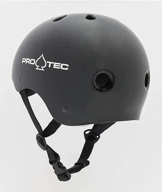 Pro-Tec Classic Gloss Black Skate Helmet
