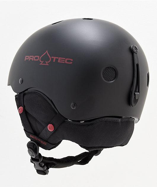 Pro-Tec Classic Matte Black Snowboard Helmet