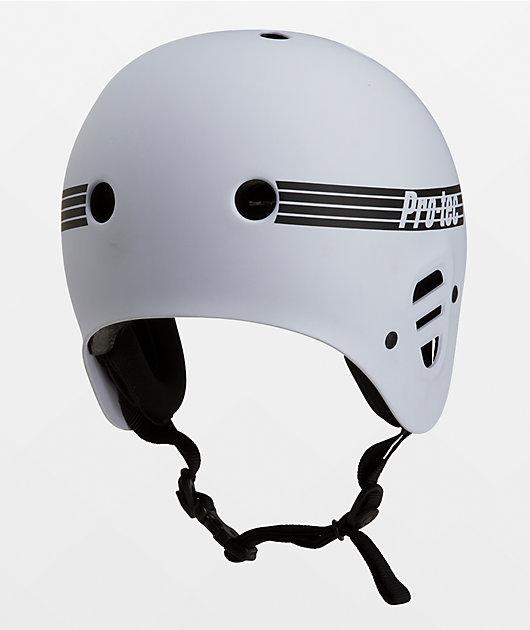 Pro-Tec Full Cut Certified White Skate Helmet
