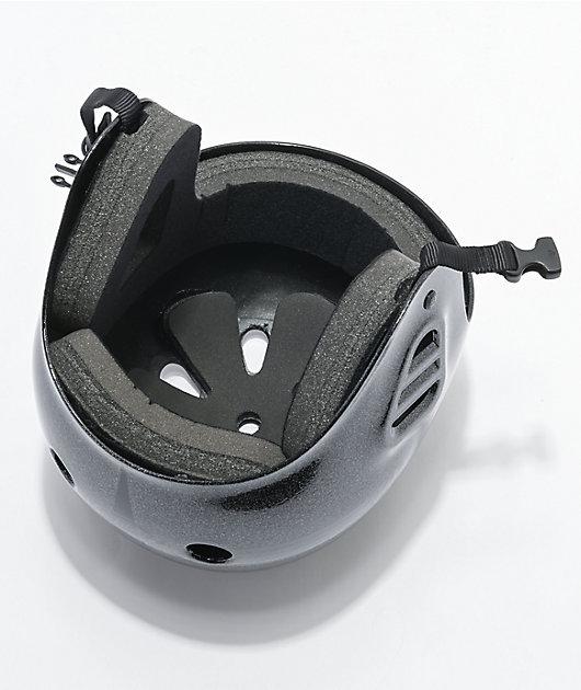 Pro-Tec Full Cut Metallic Black Skate Helmet