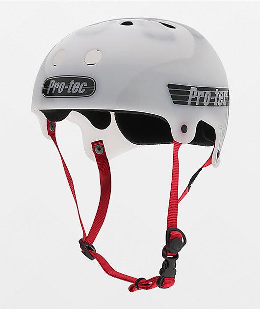 Pro-Tec The Bucky Translucent White Skateboard Helmet