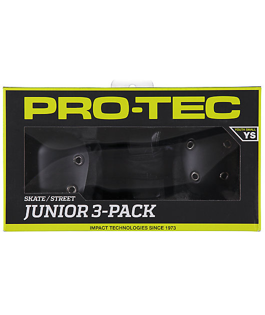 Pro-Tec Youth Small Street Gear 3 Pack Pads