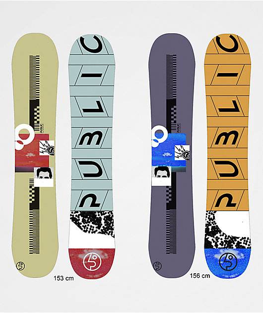 Public Mathes Display Snowboard 2020