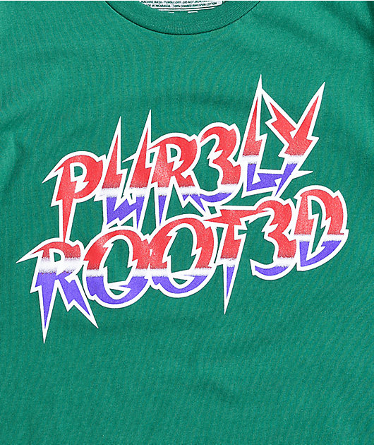 Pur3ly Root3d Metal Green T-Shirt