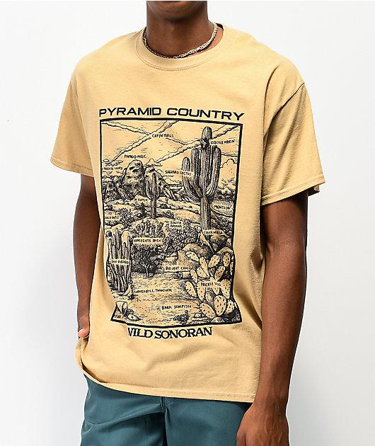 Pyramid Country Sonoran camiseta beige