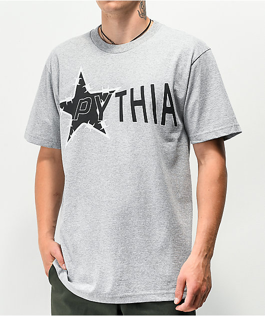 Pythia Barbed Wire Grey T-Shirt