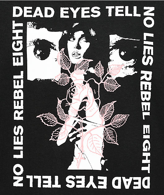 REBEL8 Dead Eyes Black T-Shirt