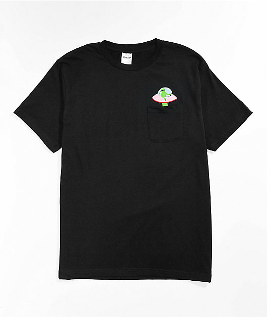 RIPNDIP Abduction Black T-Shirt
