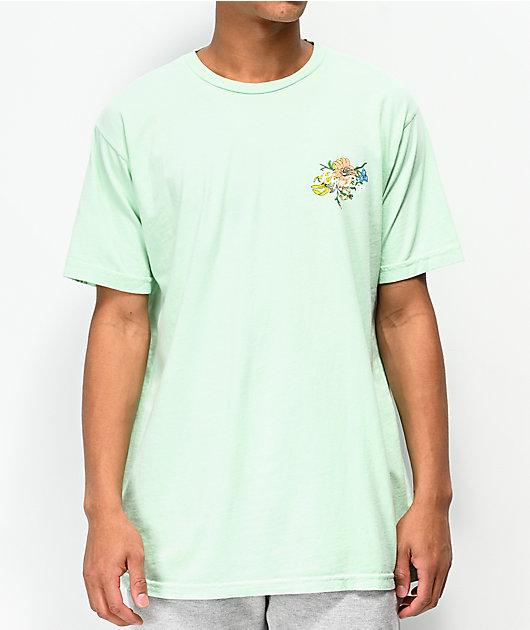 RIPNDIP Blooming Nerm Mint Green T-Shirt