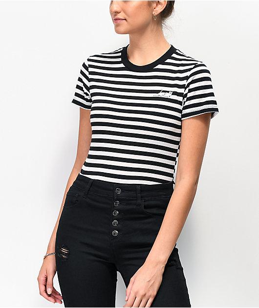 RIPNDIP Castanza camiseta negra y blanca