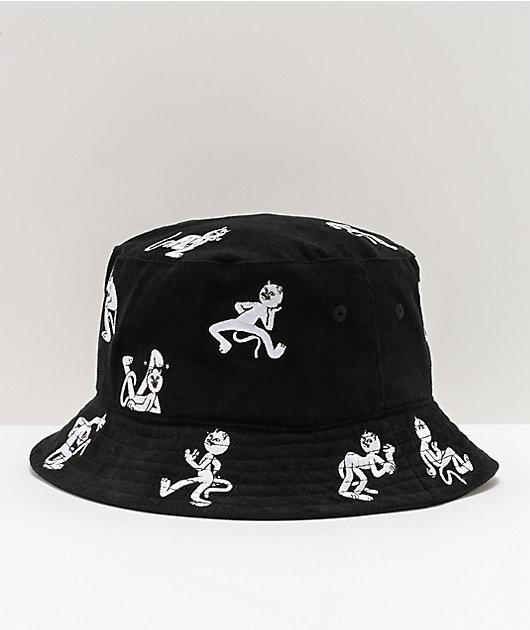 RIPNDIP Dance Party Black Bucket Hat